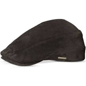NWT Stetson Suede Ivy Cap black Medium